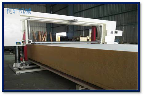 Horizontal Sponge Cutting Machine(with roller)