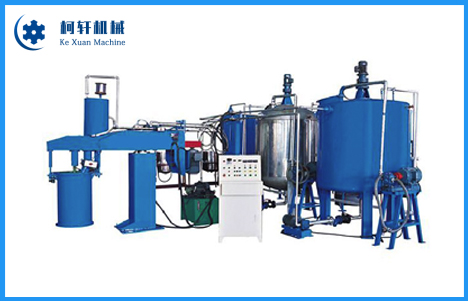 Automatic Batch Sponge Foaming Machine
