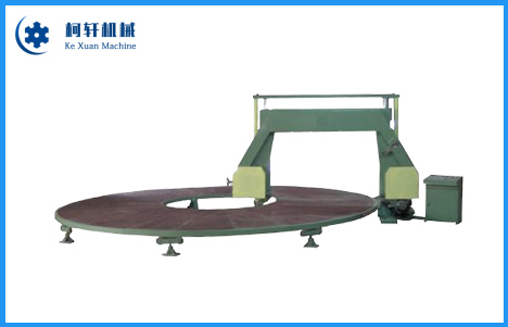 Automatic sponge circular cutting machine